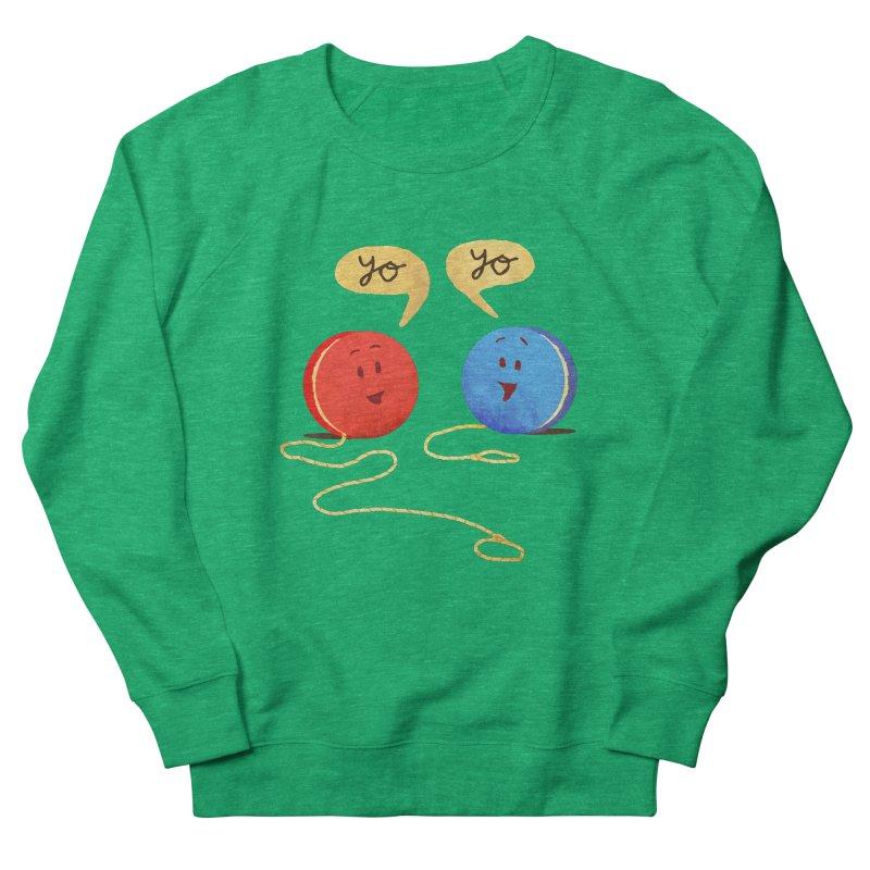 YO Men's French Terry Sweatshirt by Nohbody's Artist Shop