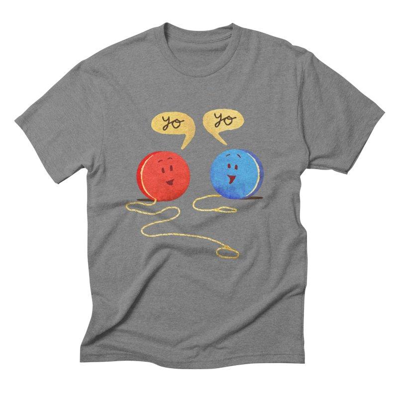 YO Men's Triblend T-Shirt by Nohbody's Artist Shop