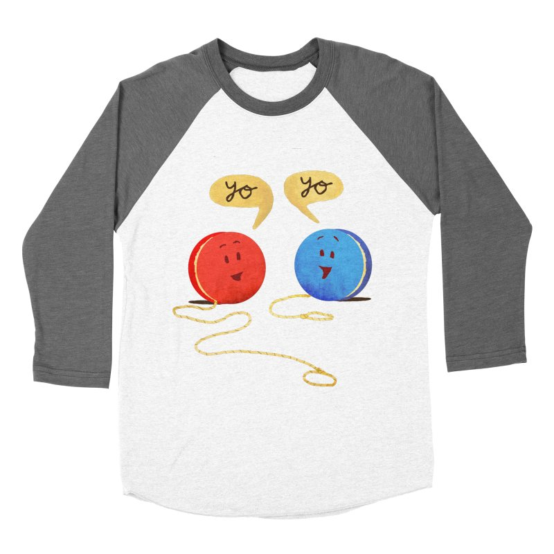 YO Women's Baseball Triblend Longsleeve T-Shirt by Nohbody's Artist Shop