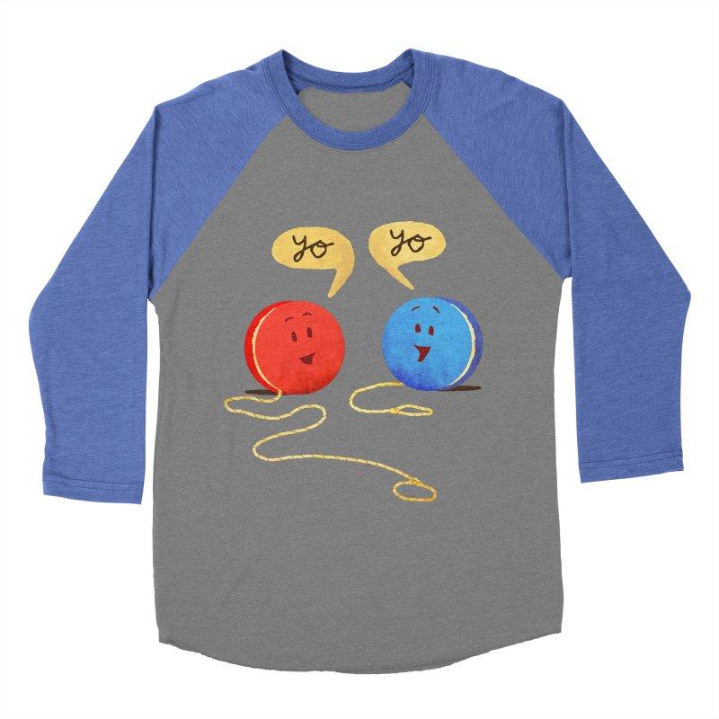 YO Women's Baseball Triblend Longsleeve T-Shirt by Nohbody's Artist Shop