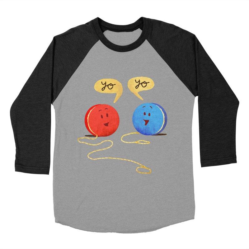 YO Men's Baseball Triblend Longsleeve T-Shirt by Nohbody's Artist Shop