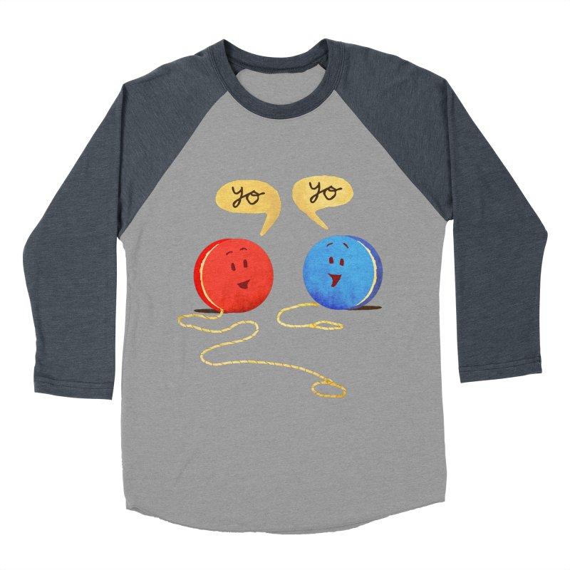 YO Men's Baseball Triblend T-Shirt by Nohbody's Artist Shop
