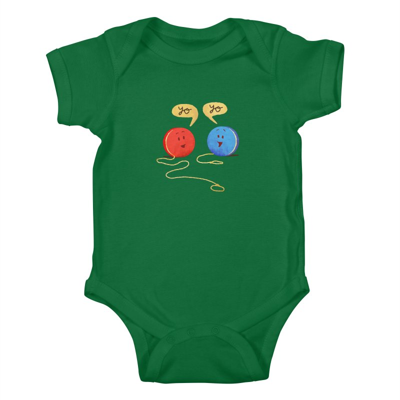 YO Kids Baby Bodysuit by Nohbody's Artist Shop