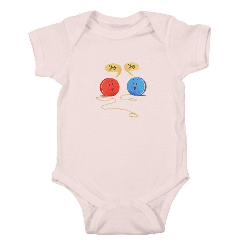 YO Kids Baby Bodysuit by Nohbody's Artist Shop