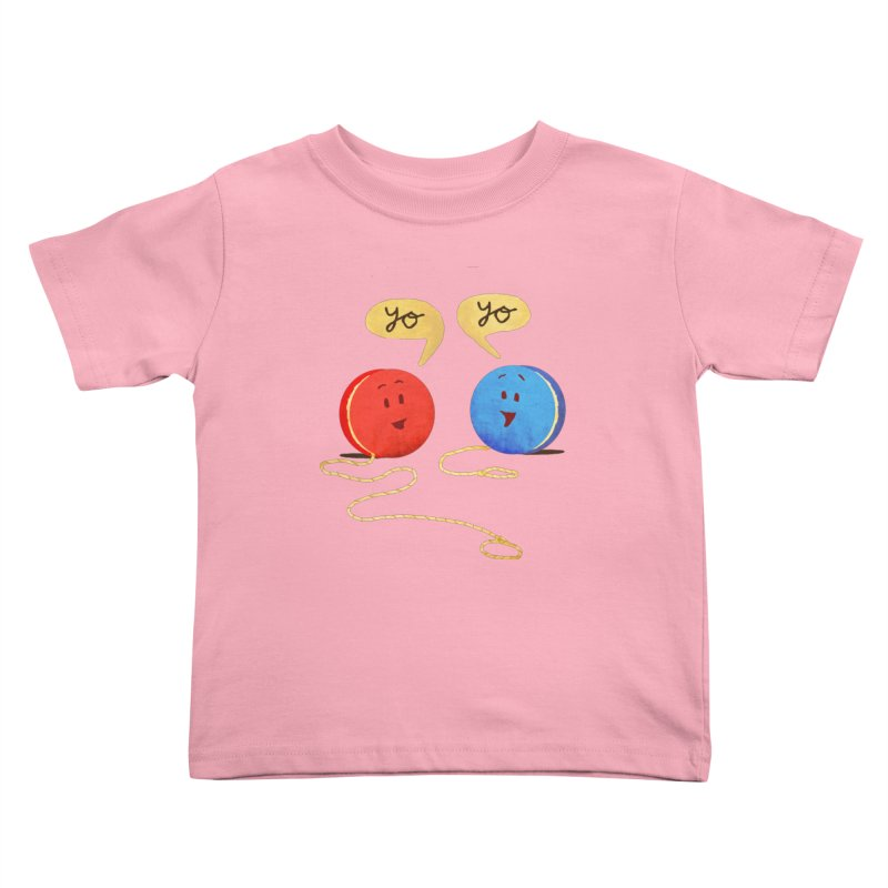 YO Kids Toddler T-Shirt by Nohbody's Artist Shop
