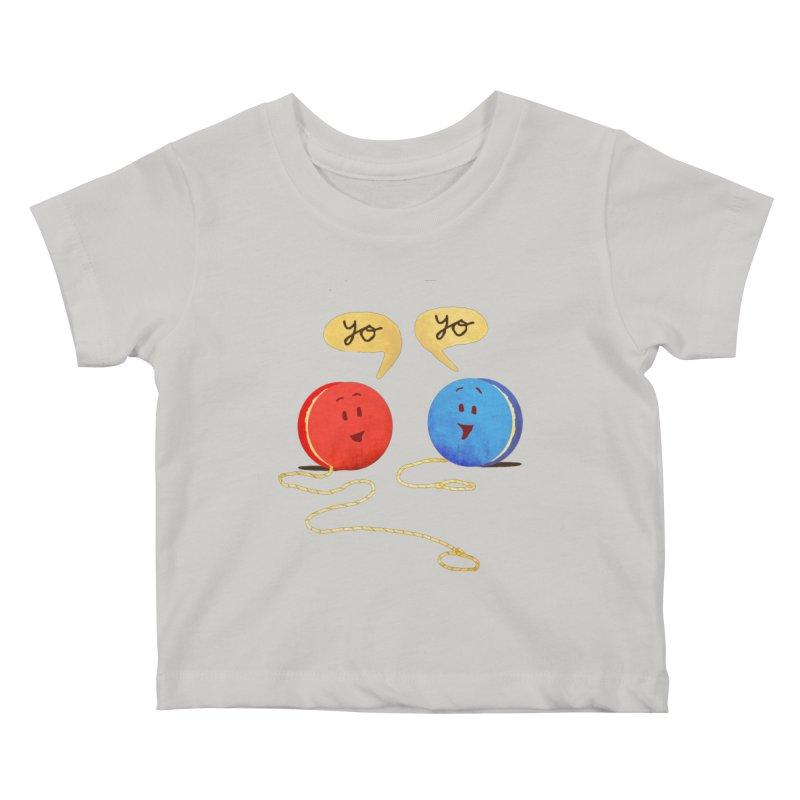 YO Kids Baby T-Shirt by Nohbody's Artist Shop