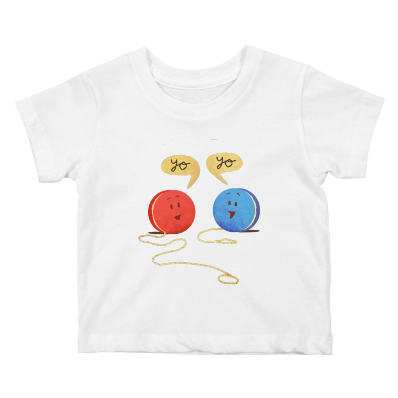 YO Kids Baby T-Shirt by Nohbody's Artist Shop