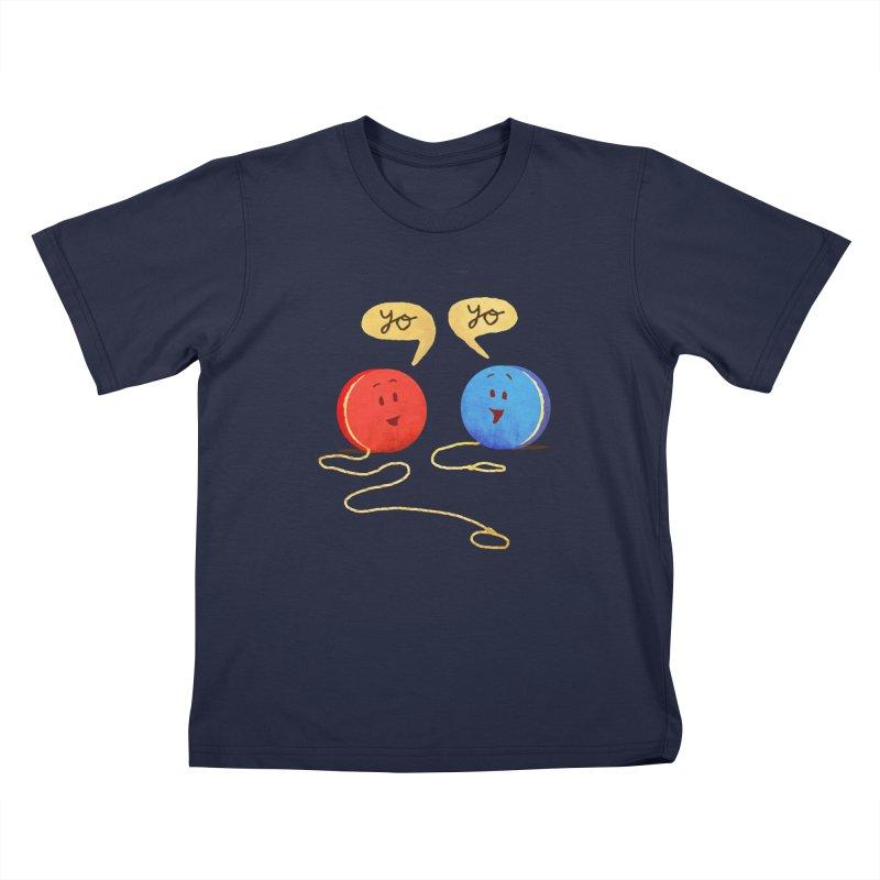 YO Kids T-Shirt by Nohbody's Artist Shop