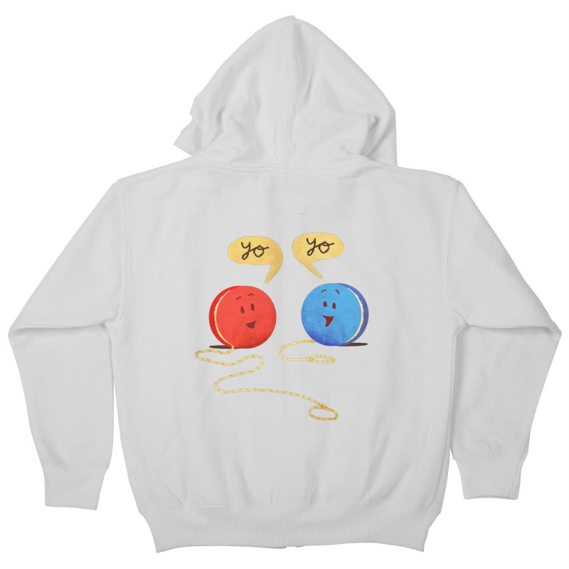 YO Kids Zip-Up Hoody by Nohbody's Artist Shop