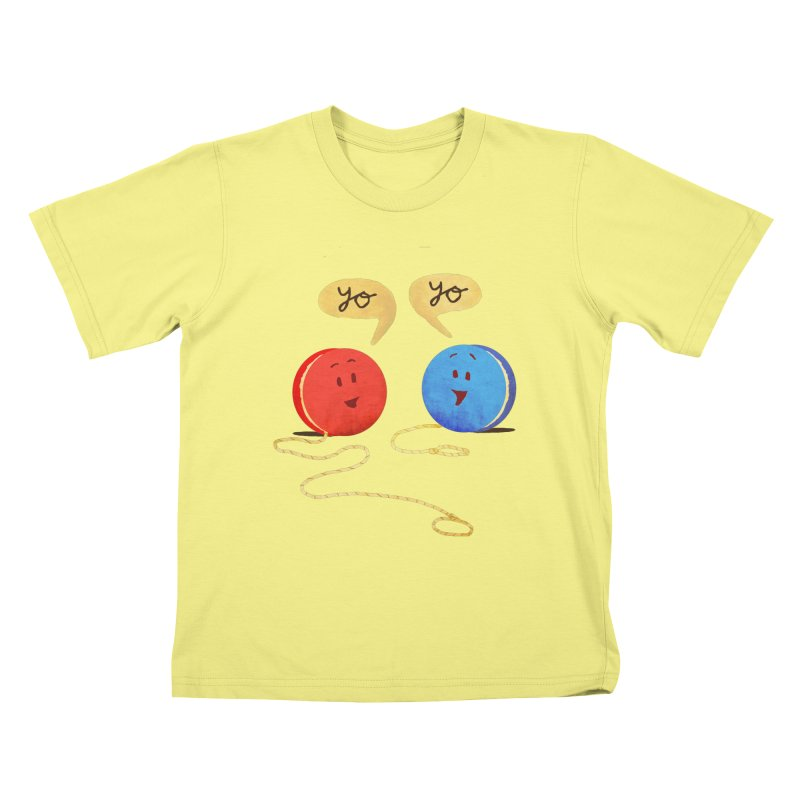 YO Kids T-shirt by Nohbody's Artist Shop