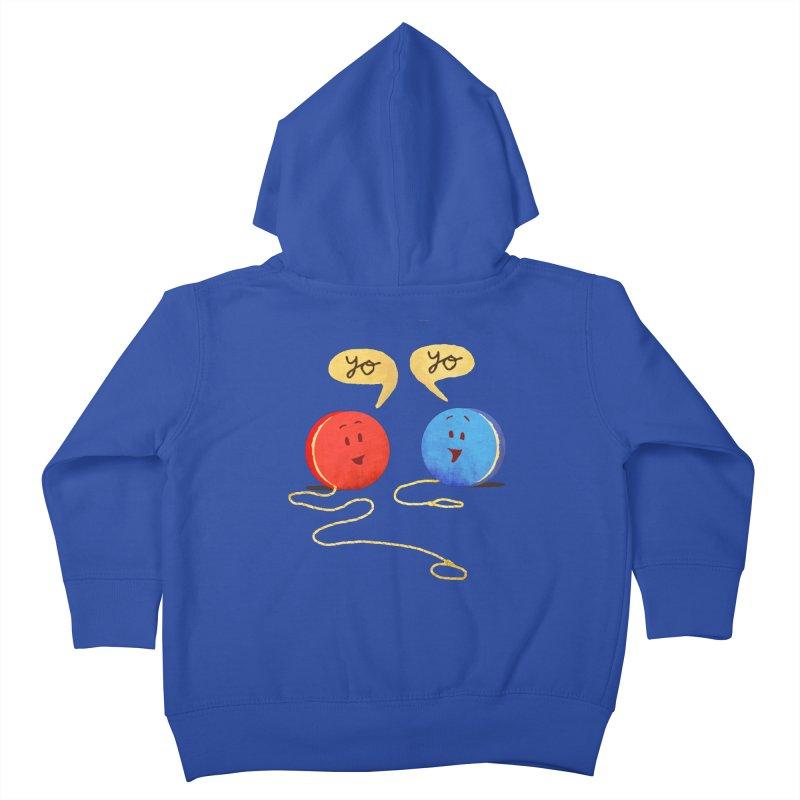 YO Kids Toddler Zip-Up Hoody by Nohbody's Artist Shop