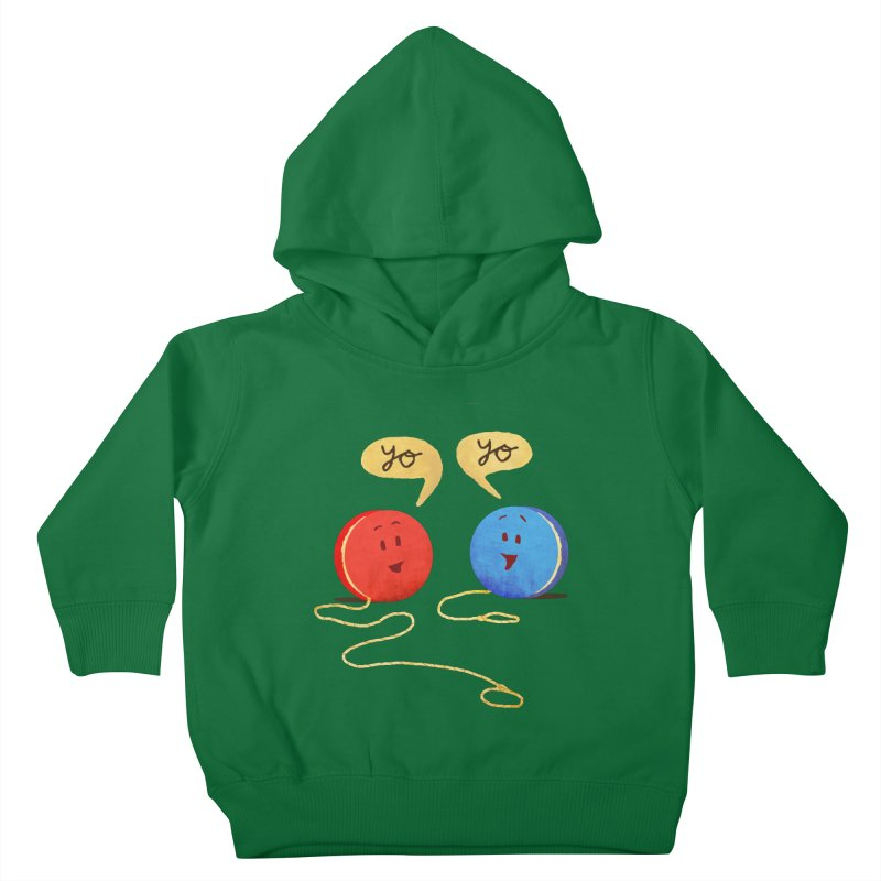 YO Kids Toddler Pullover Hoody by Nohbody's Artist Shop