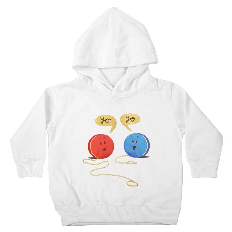YO Kids Toddler Pullover Hoody by Nohbody's Artist Shop