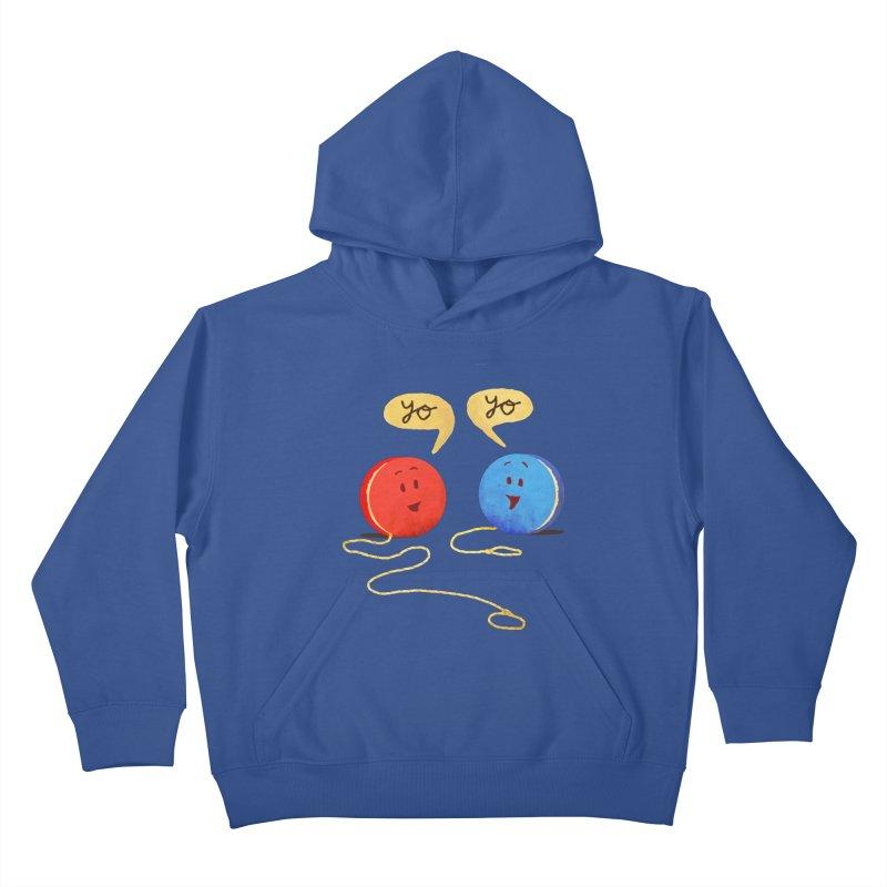 YO Kids Pullover Hoody by Nohbody's Artist Shop