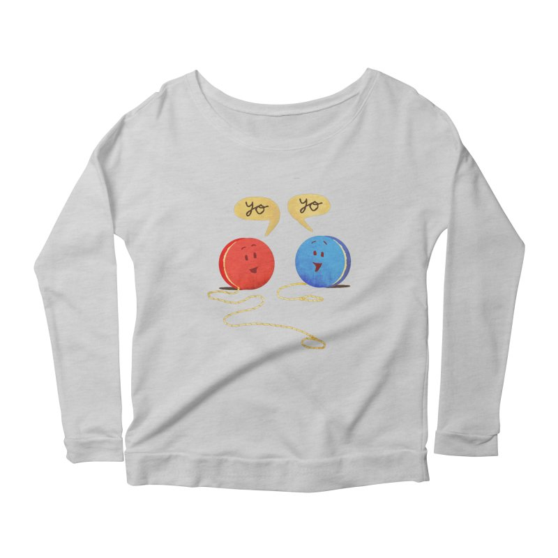 YO Women's Longsleeve T-Shirt by Nohbody's Artist Shop
