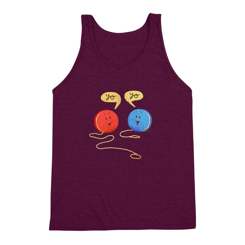 YO Men's Triblend Tank by Nohbody's Artist Shop