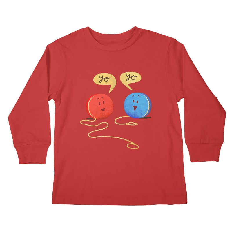 YO Kids Longsleeve T-Shirt by Nohbody's Artist Shop
