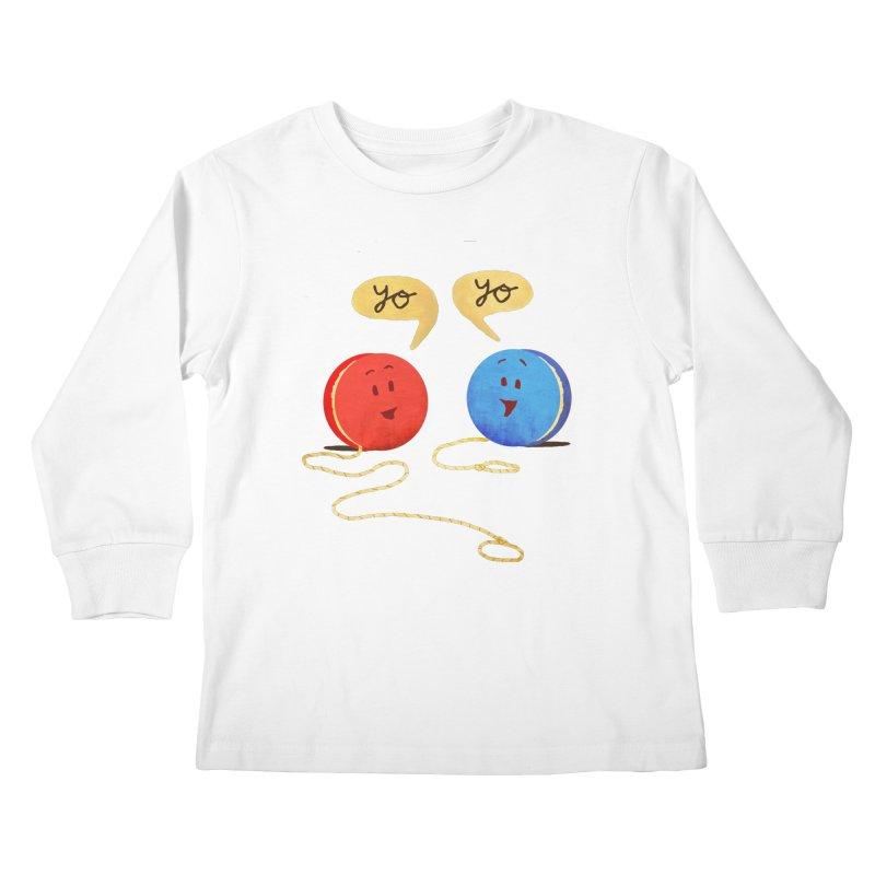 YO Kids Longsleeve T-Shirt by Nohbody's Artist Shop