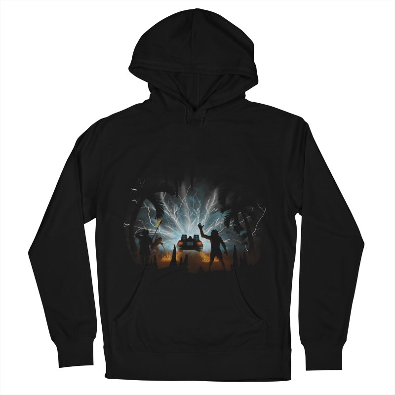 We Didn't Start The Fire Men's Pullover Hoody by Nohbody's Artist Shop