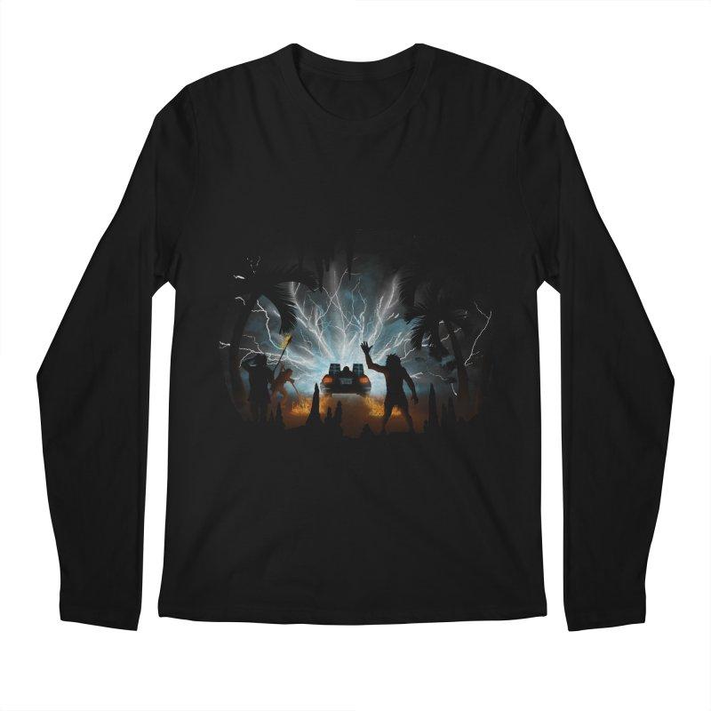 We Didn't Start The Fire Men's Longsleeve T-Shirt by Nohbody's Artist Shop