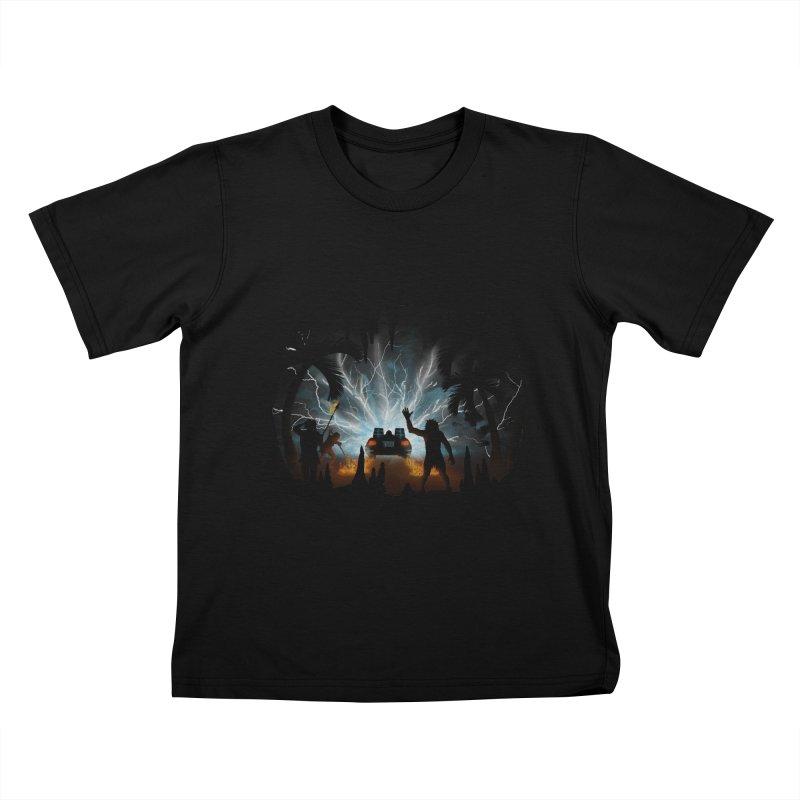 We Didn't Start The Fire Kids T-Shirt by Nohbody's Artist Shop