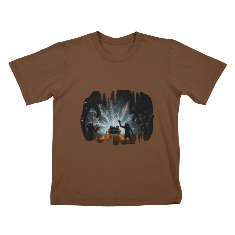 We Didn't Start The Fire Kids T-Shirt by Nohbody's Artist Shop
