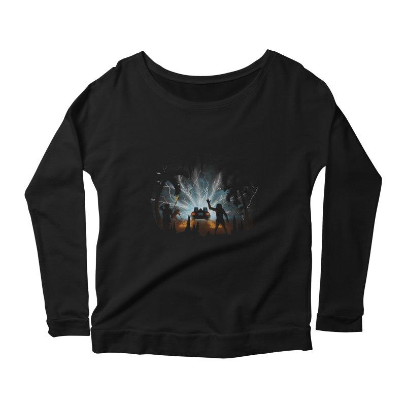 We Didn't Start The Fire Women's Longsleeve T-Shirt by Nohbody's Artist Shop