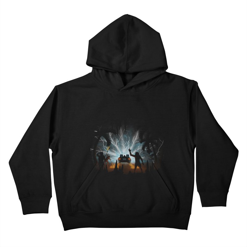 We Didn't Start The Fire Kids Pullover Hoody by Nohbody's Artist Shop