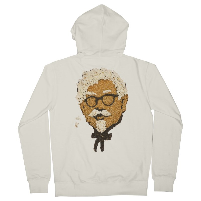 The Kernel Men's French Terry Zip-Up Hoody by Nohbody's Artist Shop