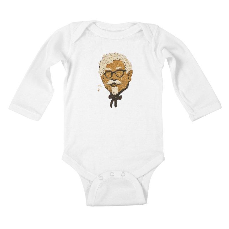The Kernel Kids Baby Longsleeve Bodysuit by Nohbody's Artist Shop