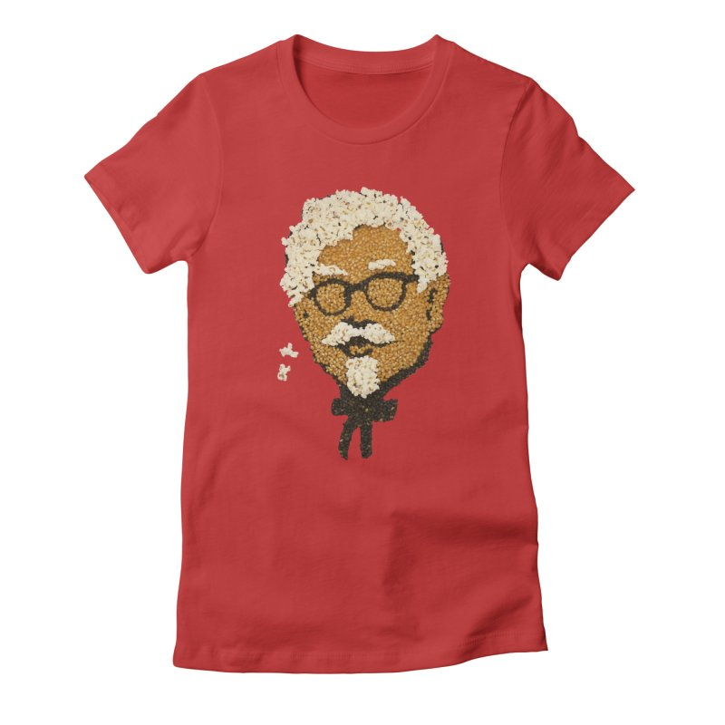 The Kernel Women's Fitted T-Shirt by Nohbody's Artist Shop