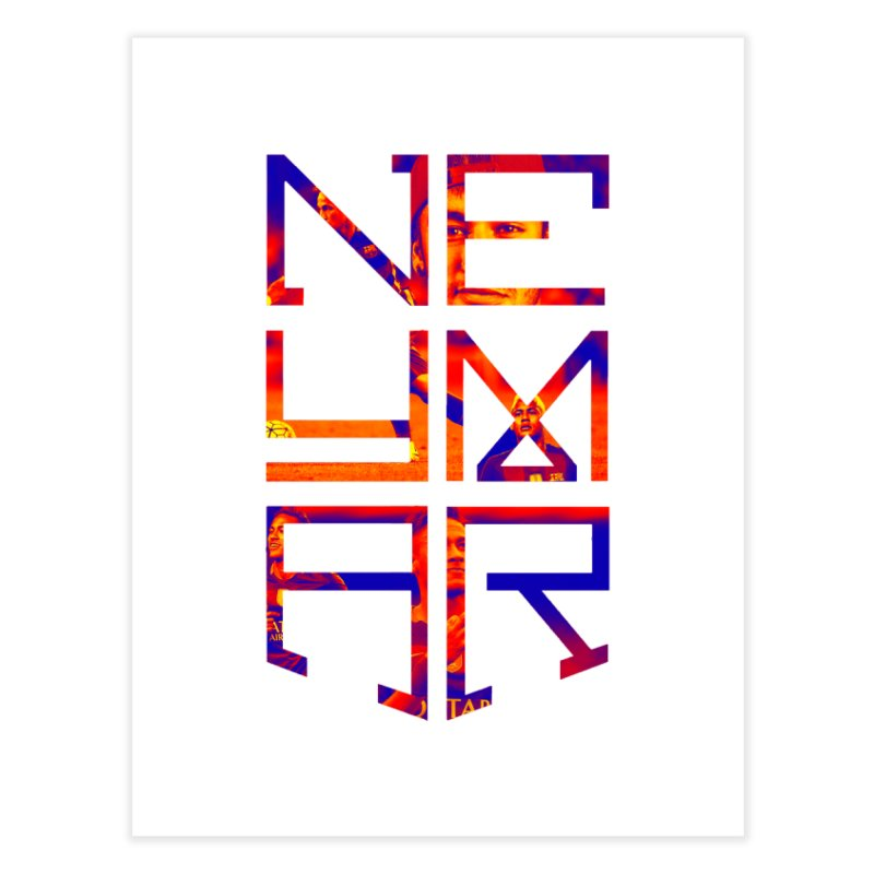 Neymar Logo Home Fine Art Print By NoiseColorss Artist Shop