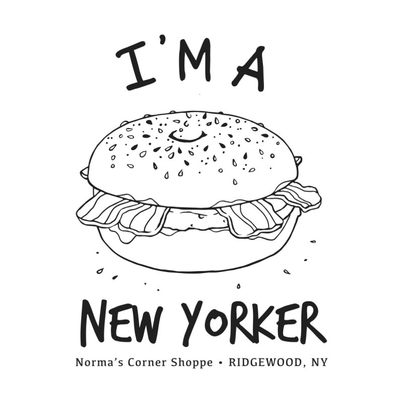 I'm A New Yorker Men's T-Shirt by Normascornershoppe's Artist Shop