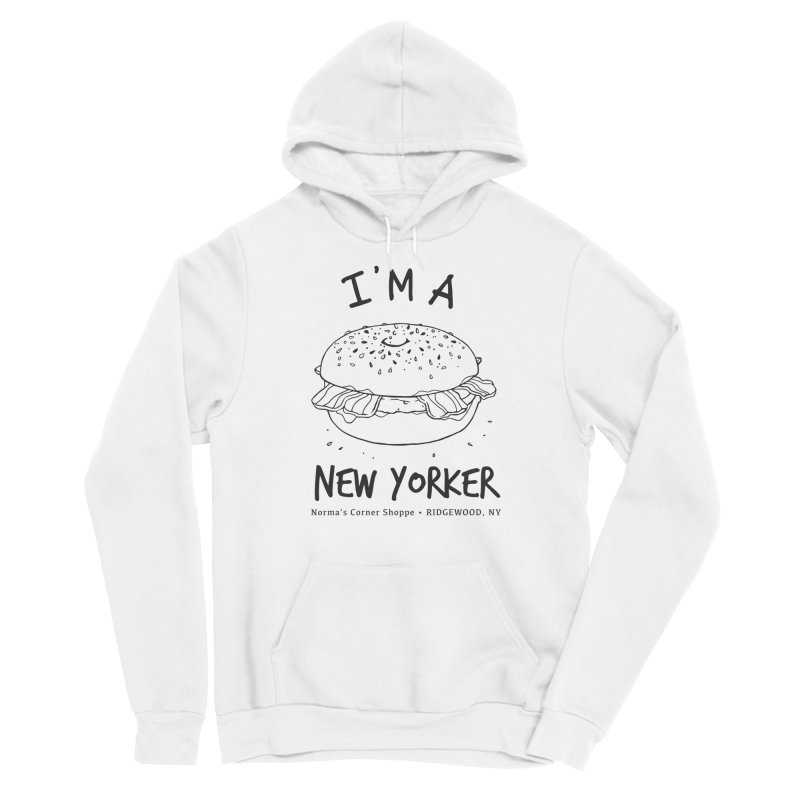 I'm A New Yorker Men's Pullover Hoody by Normascornershoppe's Artist Shop