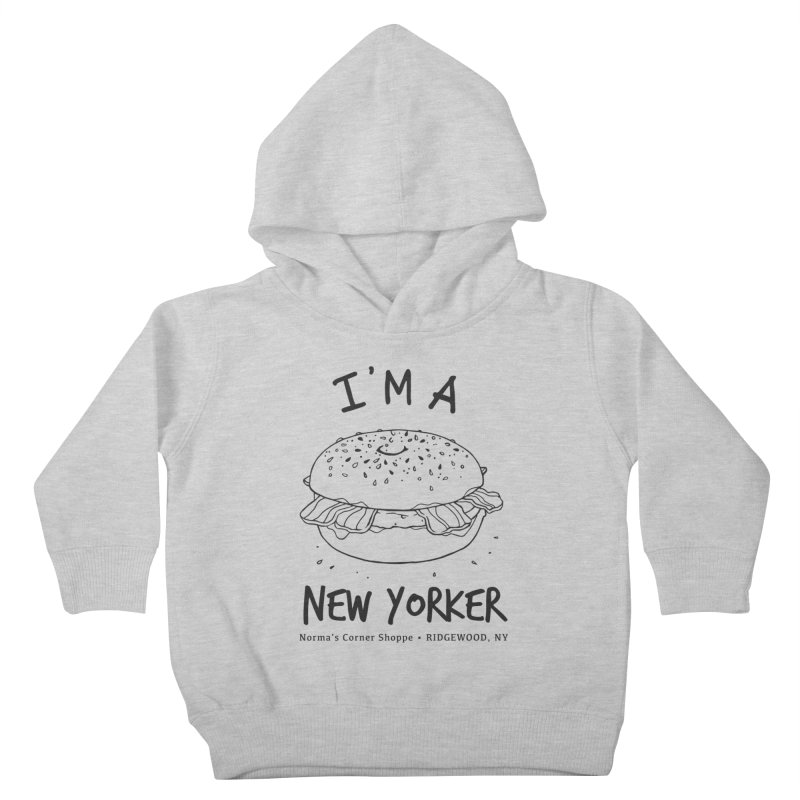 I'm A New Yorker Kids Toddler Pullover Hoody by Normascornershoppe's Artist Shop