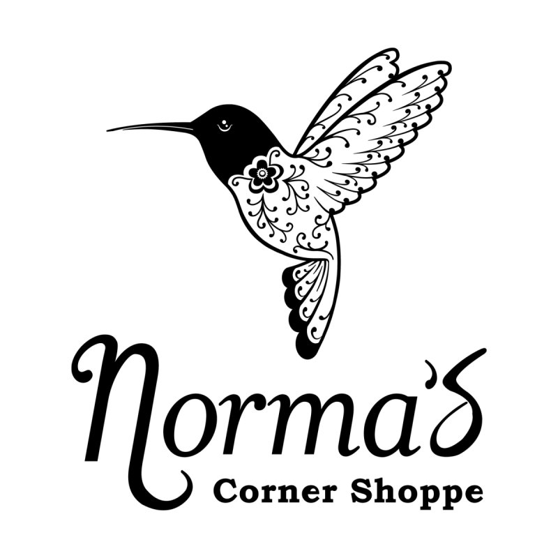 Norma's hummingbird Black Men's T-Shirt by Normascornershoppe's Artist Shop