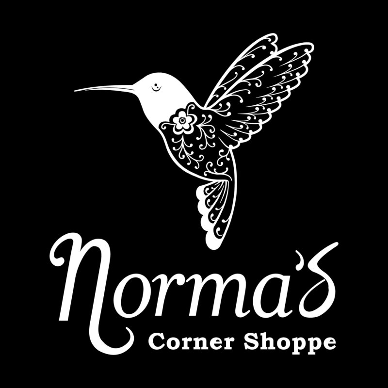 Norma's Hummingbird White Women's Zip-Up Hoody by Normascornershoppe's Artist Shop