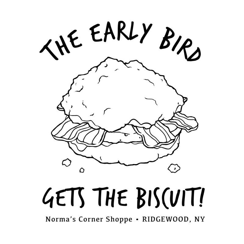 The Early Bird Gets The Biscuit Men's T-Shirt by Normascornershoppe's Artist Shop