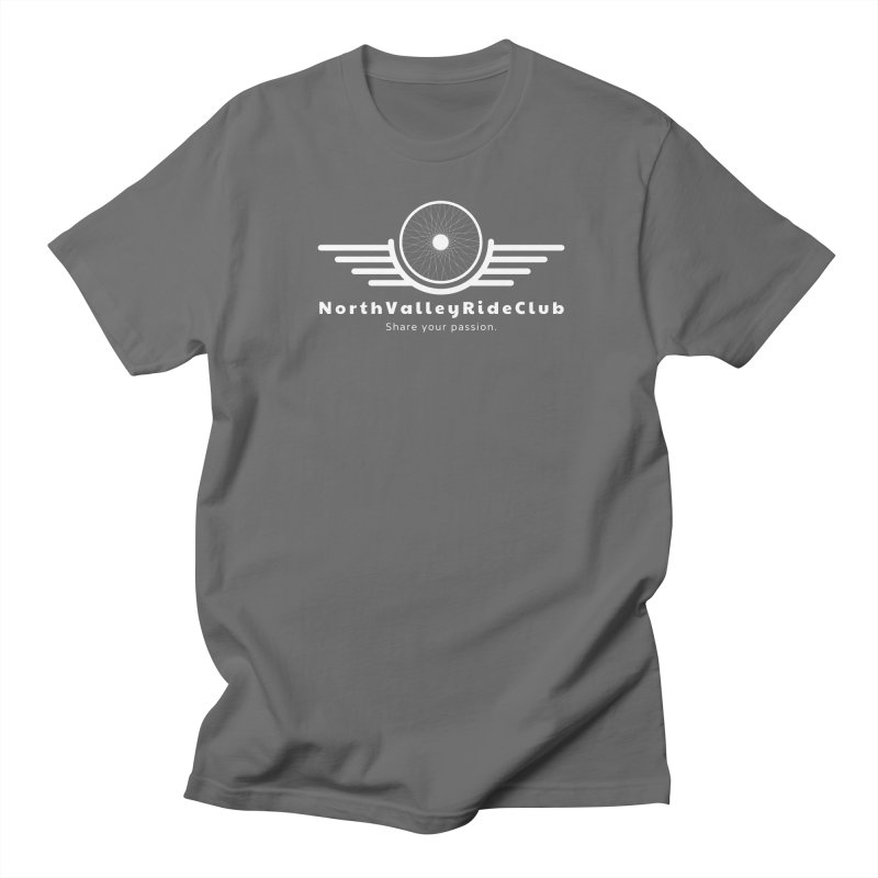 NVRC - White Logo Men's T-Shirt by North Valley Ride Club
