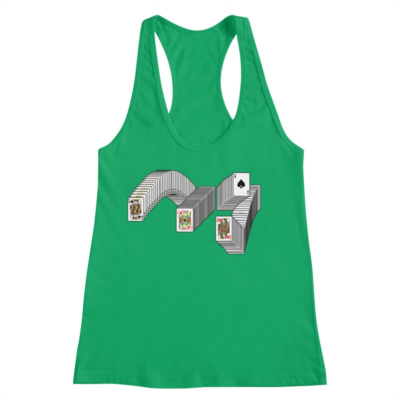 Solitary Victory Women's Racerback Tank by Not Bad Tees