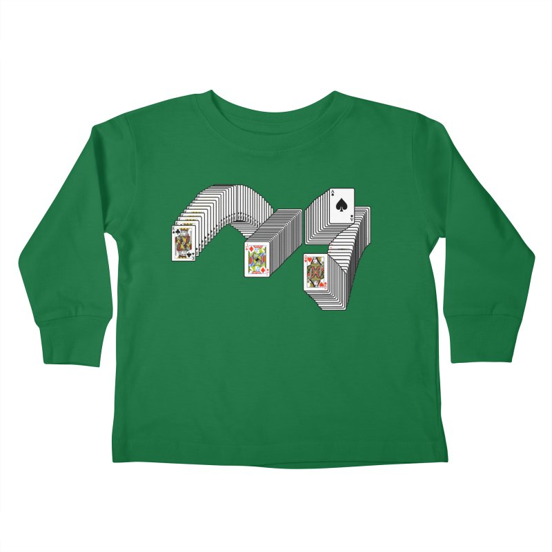 Solitary Victory Kids Toddler Longsleeve T-Shirt by Not Bad Tees