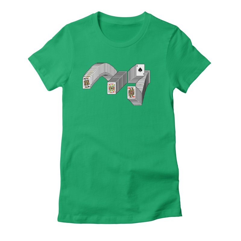 Solitary Victory Women's Fitted T-Shirt by Not Bad Tees