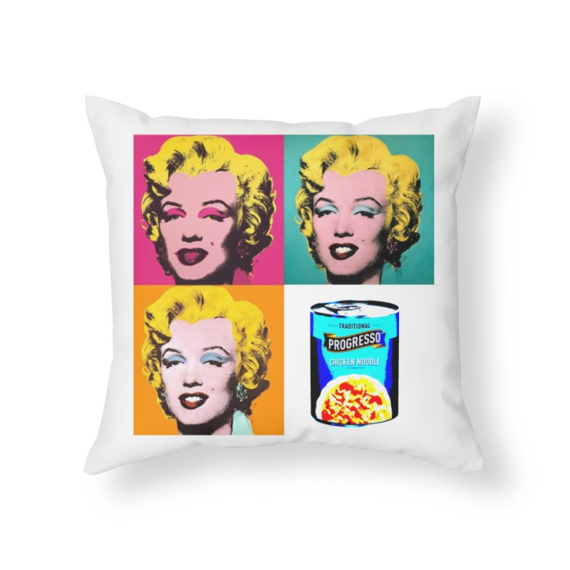 Pop Art Progress Home Throw Pillow by Not Bad Tees