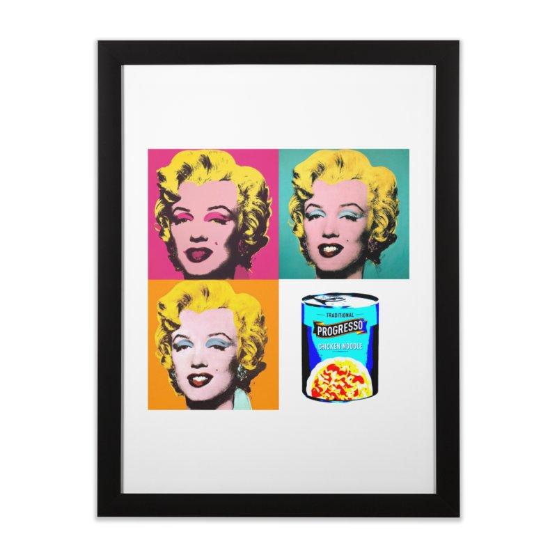 Pop Art Progress Home Framed Fine Art Print by Not Bad Tees