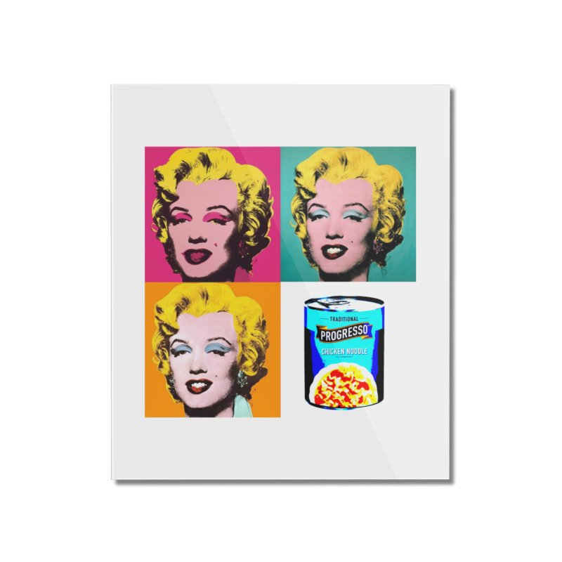Pop Art Progress Home Mounted Acrylic Print by Not Bad Tees