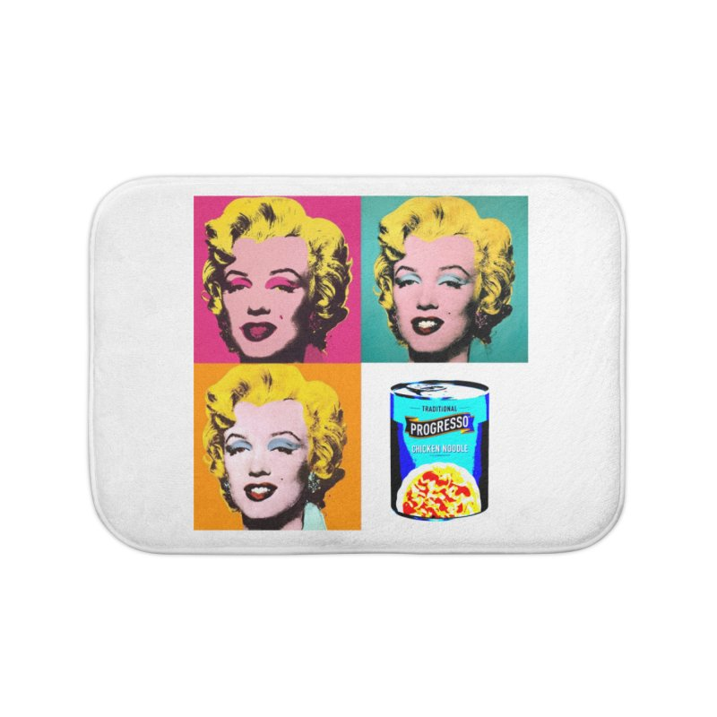 Pop Art Progress Home Bath Mat by Not Bad Tees