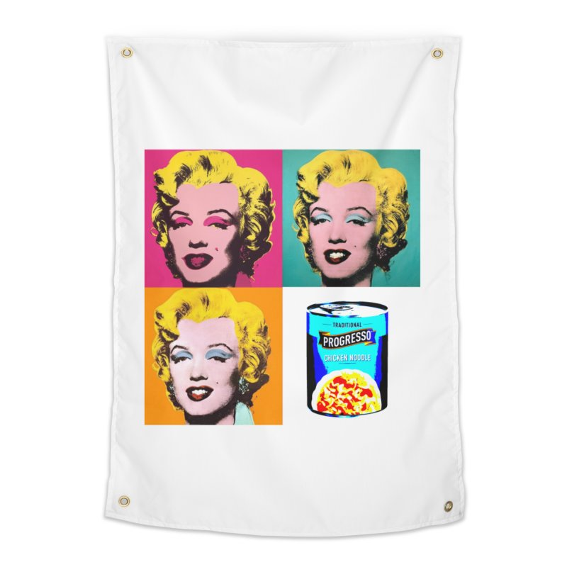 Pop Art Progress Home Tapestry by Not Bad Tees