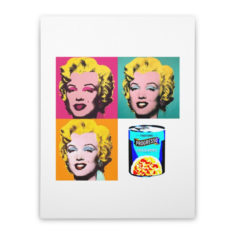 Pop Art Progress Home Stretched Canvas by Not Bad Tees