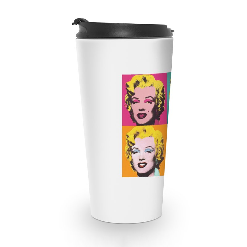 Pop Art Progress Accessories Travel Mug by Not Bad Tees