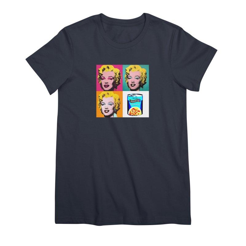 Pop Art Progress Women's Premium T-Shirt by Not Bad Tees